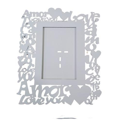Porta Retrato em MDF Pintado - Love - A Unidade - Cód.: 748