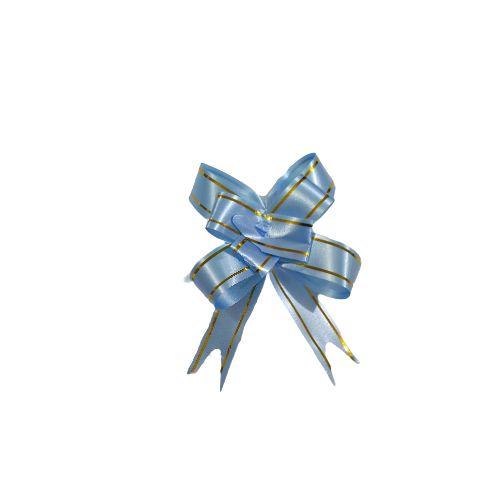 Laço para Presente M na Cor Azul Claro - O Pacote com 200 unidades - Cód.: 8930