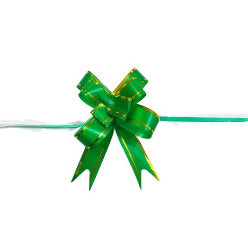 Laço para Presente M na Cor Verde - O Pacote com 200 unidades - Cód.: 8930