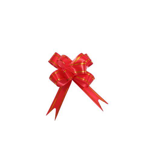 Laço para Presente M na Cor Vermelha - O Pacote com 200 unidades - Cód.: 8930