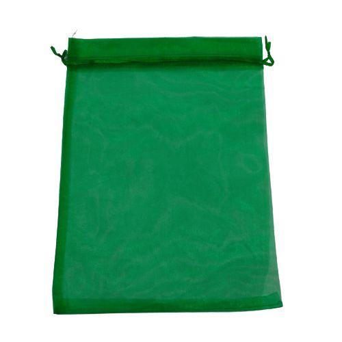 Saquinho de Organza na Cor Verde- O Pacote com 50 peças - Cód.: 8128