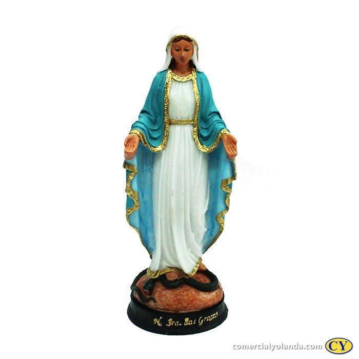 Imagem de Nossa Senhora das Graças G em resina - A unidade - Cód.: 3937