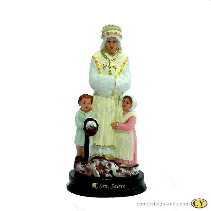 Imagem N. Sra. da Salete M em resina - A Unidade - Cód.: 8647