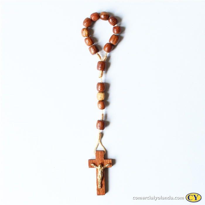 Dezena em madeira com cristo - A Dúzia - Cód.: 1252