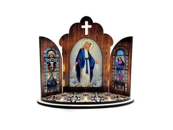 Capela Portuguesa de Nossa Senhora das Graças - O Pacote com 3 peças - Cód.: 6355
