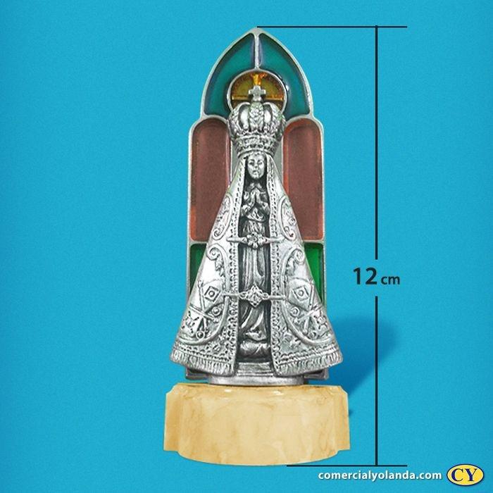 Pia para água benta de Nossa Senhora Aparecida - Vitral - A Unidade - Cód.: 8183