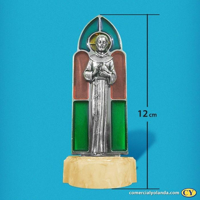 Pia para água benta de São Francisco de Assis - Vitral - A Unidade - Cód.: 8178