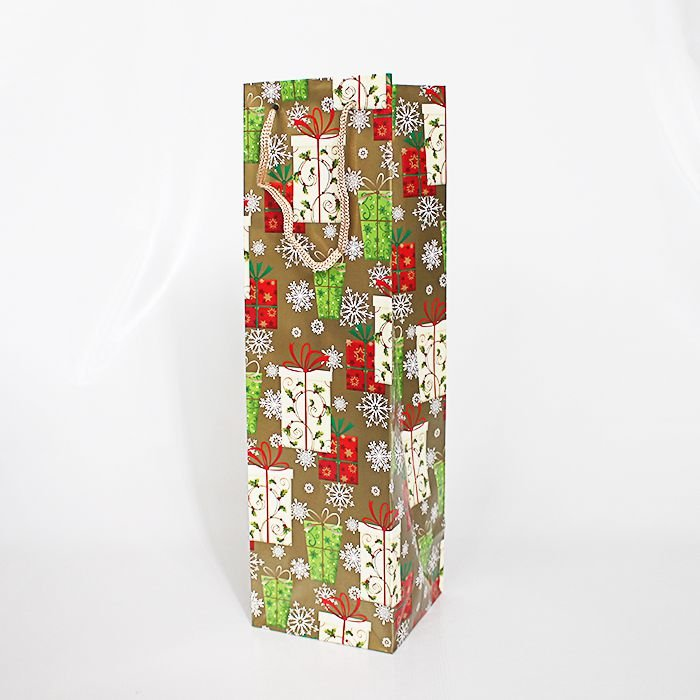 Sacola de Presente para Vinho - O pacote com 6 unidades sortidas - Ref.: GB1988.CO