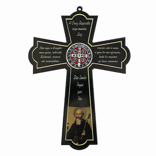 Cruz de São Bento Grande em madeira - A unidade - Cód.: 8145