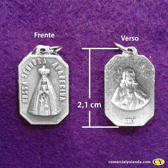 Medalha de Nossa Senhora de Aparecida - A Dúzia - Cód.: 8119