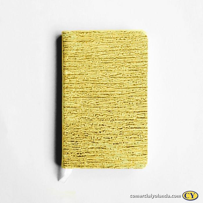 Mini bloco de anotação cor metálica - A Unidade - Cód.: 5050