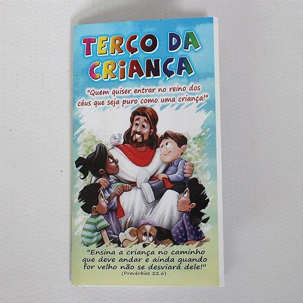 Livrinho Sanfona - Terço da Criança - A Dúzia - Cód.: 1919