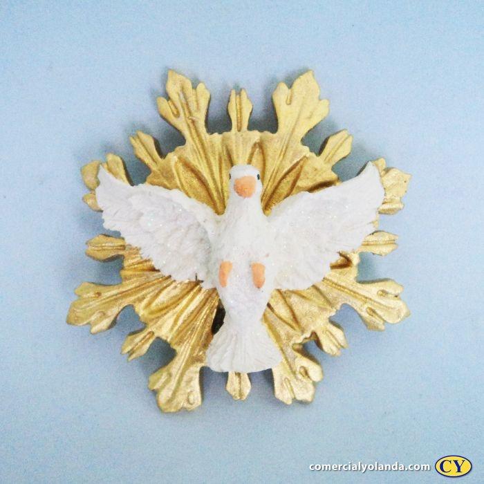Divino Espirito Santo de parede - Pacote com 3 peças - Cód.: 5531