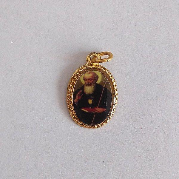 Medalha de Alumínio Resinada - São Bento - Pacote com 100 peças - Cód.: 447