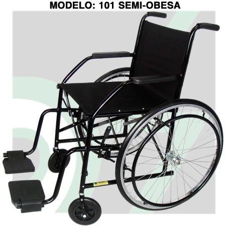 Cadeira de Rodas CDS201 Semi Obesa