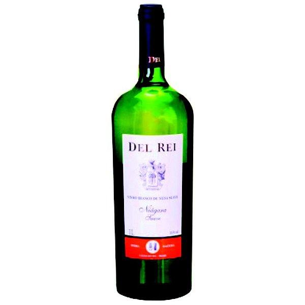 Vinho de Mesa - Del Rei Branco Suave Niágara 1L