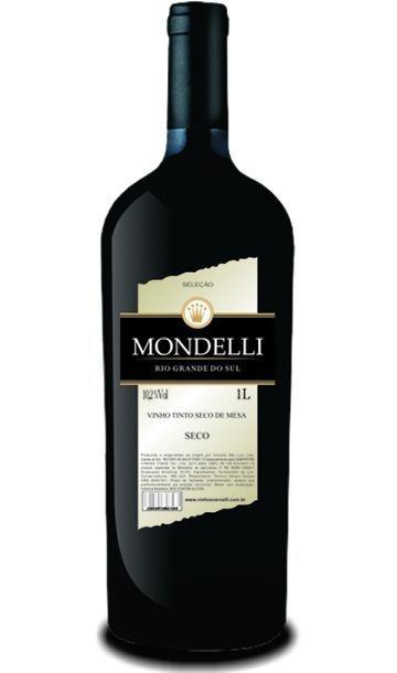 Vinho de Mesa - Mondelli Tinto Seco 1L