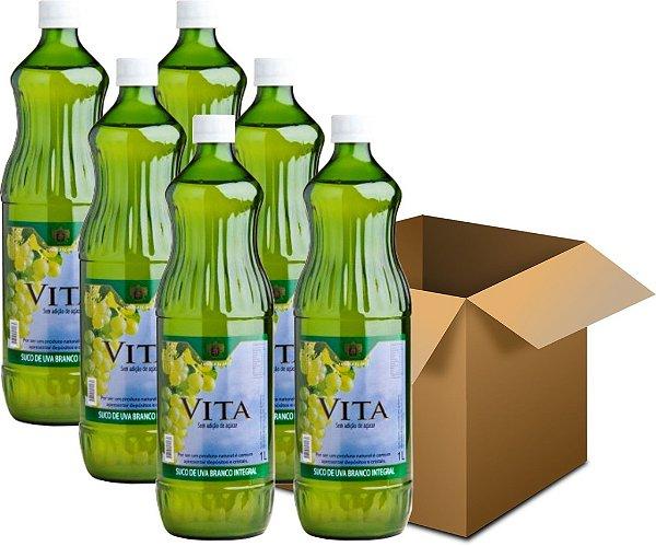 Suco de Uva - Vita Branco Integral 6x1L