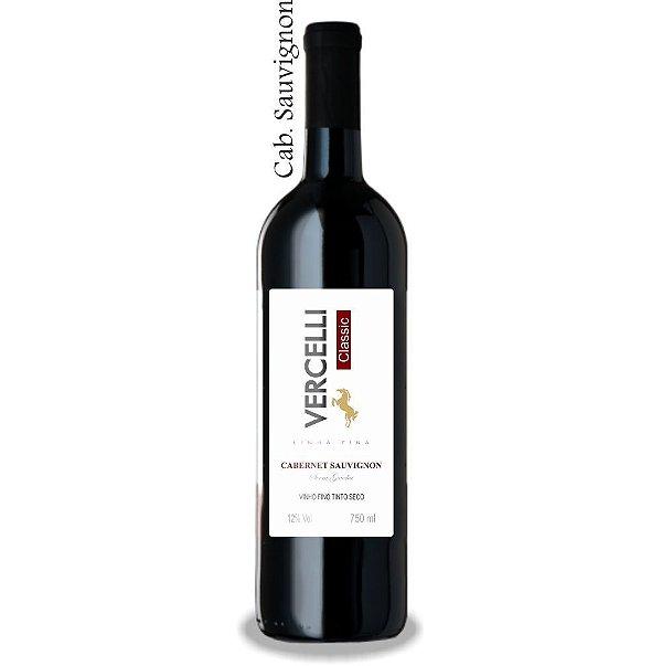 Vinho Fino - Vercelli Classic Tinto Seco Cabernet Sauvignon 750ml