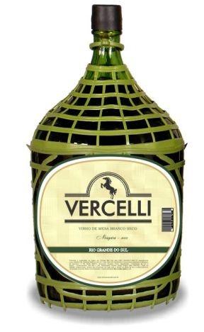 Vinho de Mesa - Vercelli Branco Seco Niágara 4,6L