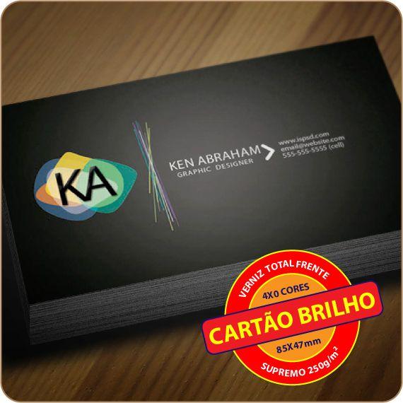 CARTÃO BRILHO | VTF | 4X0