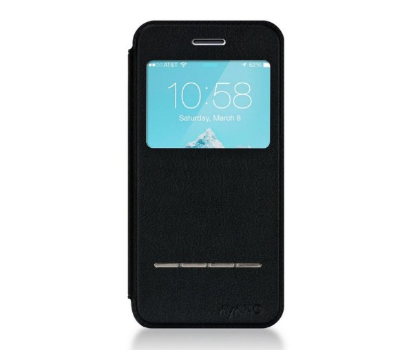 Capa Flip iPhone 6s e iPhone 6 (tela 4,7) | FLIP CASE PRIMO NERO AYANO