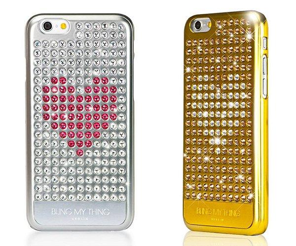 HEART ON | Capa Cristal Swarovski para iPhone 6s 6 | 210 pedras