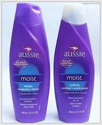 shampoo + condicionador aussie moist 400 ml