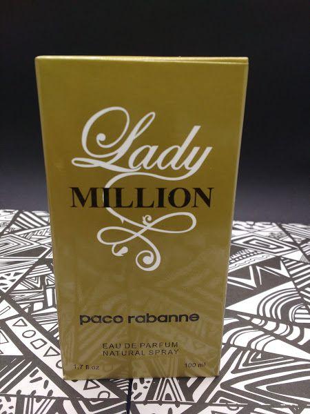 Perfume Lady million Importado Contratipo 100ml