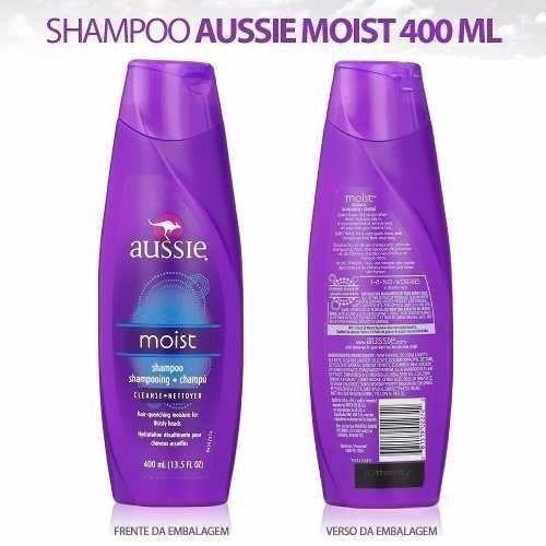 Shampoo Aussie Moist 400ml
