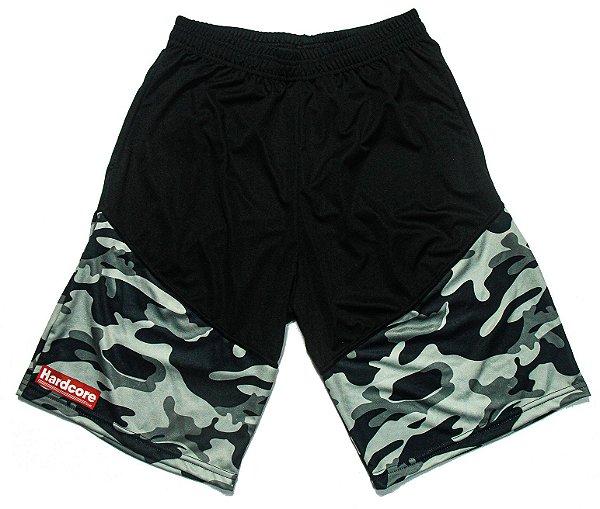 Bermuda Dry Fit Hardcore Line - Militar Black