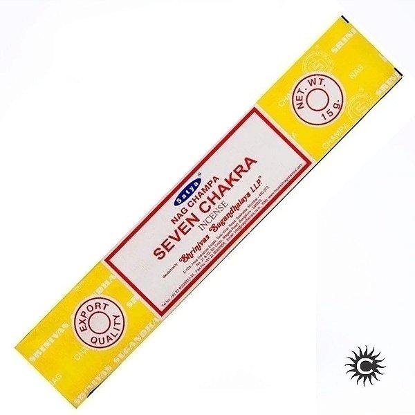 Incenso - Satya Nag Champa - Seven Chakra