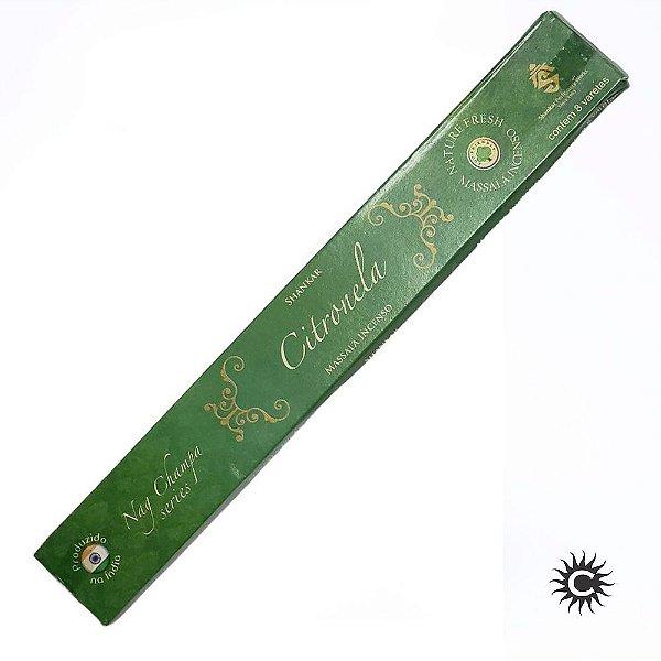 Incenso - SHANKAR - Massala - Caixa com 8 varetas - CITRONELA
