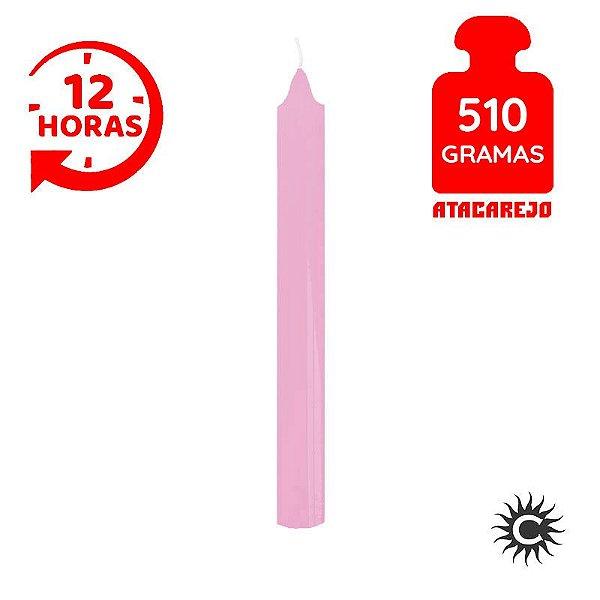 Vela - 12 horas - 510G - Rosa