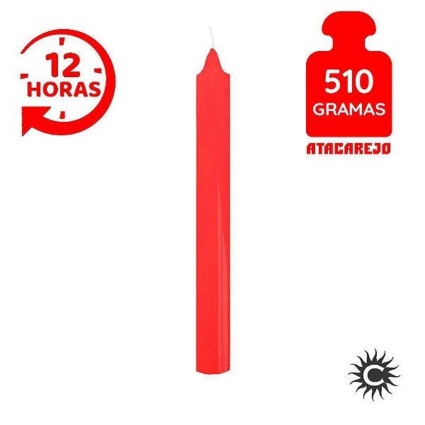 Vela - 12 horas - 510G - Vermelho
