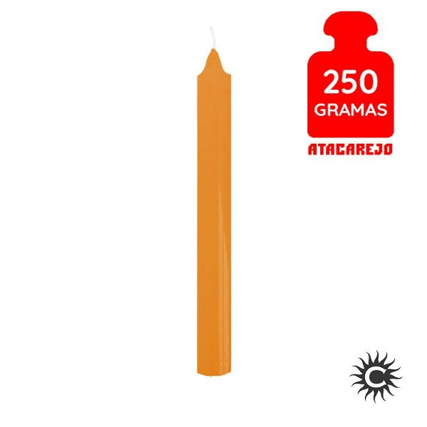 Vela - Palito - 250G - Laranja
