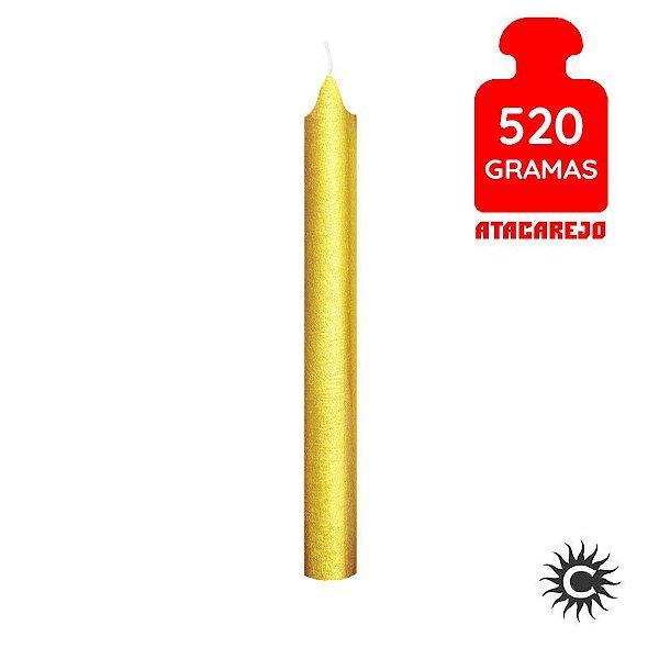 Vela - Palito - 520G - Especial - Dourada
