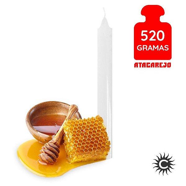 Vela - Palito - 520G - Especial - Mel - Branca