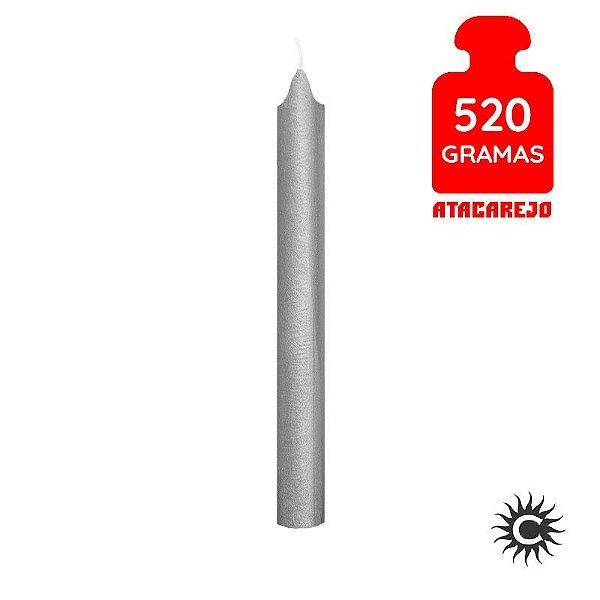 Vela - Palito - 520G - Especial - Prata