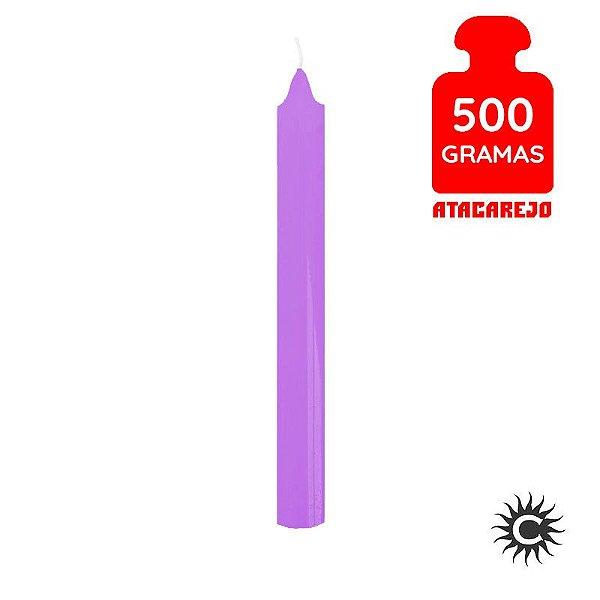 Vela - Palito - 500G - Lilás