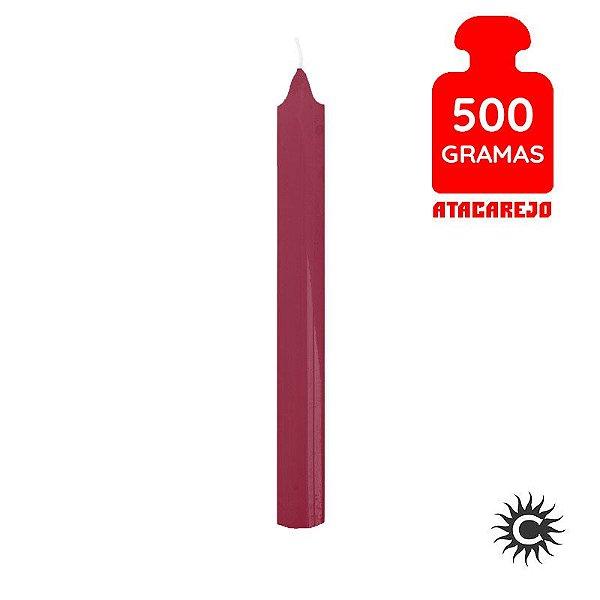 Vela - Palito - 500G - Magenta