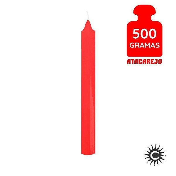 Vela - Palito - 500G - Vermelha