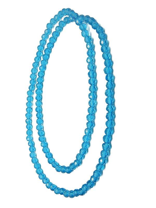 Guia - Cristal Azul 8mm