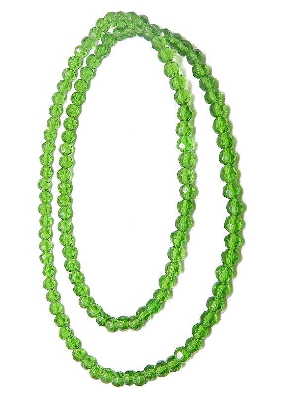 Guia - Cristal Verde Claro 8mm