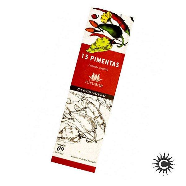 Incenso - Natural Nirvana 13 Pimentas