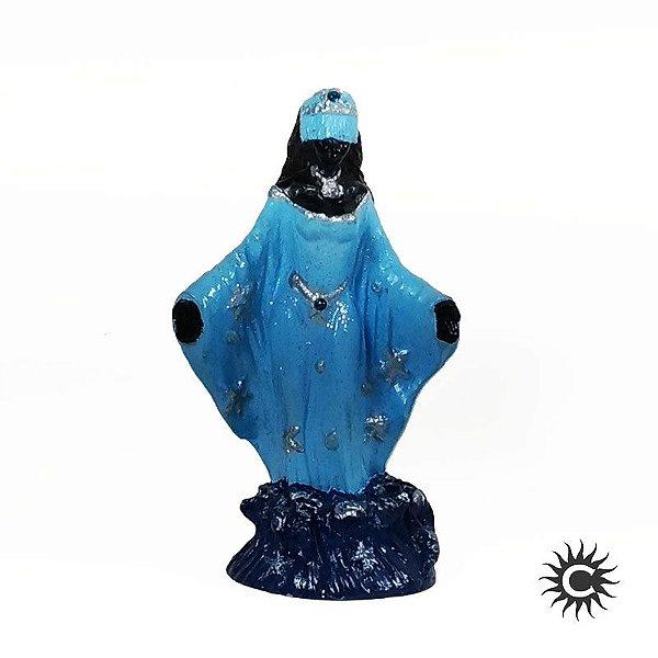 Imagem - Iemanjá Negra - Resina - 15cm