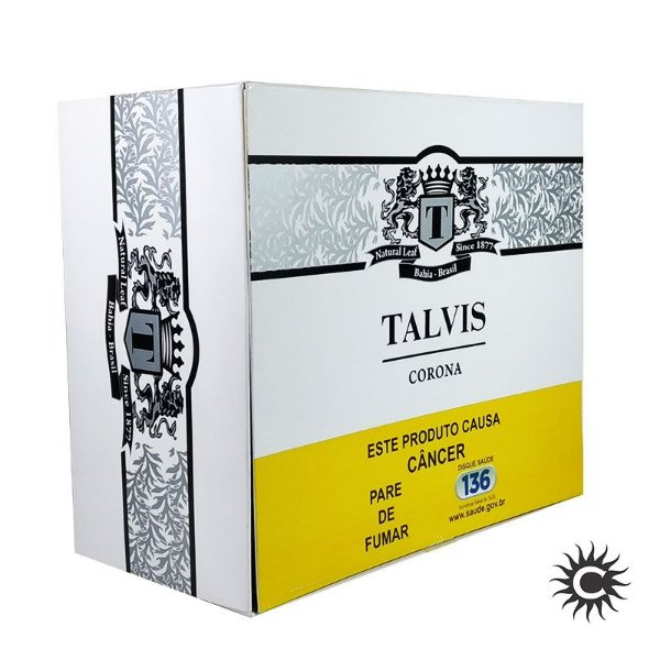 Charuto - TALVIS - CORONITA - Caixa 50 Unidades