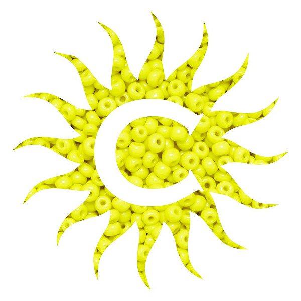 Missanga - Leitosa Amarela 100 g