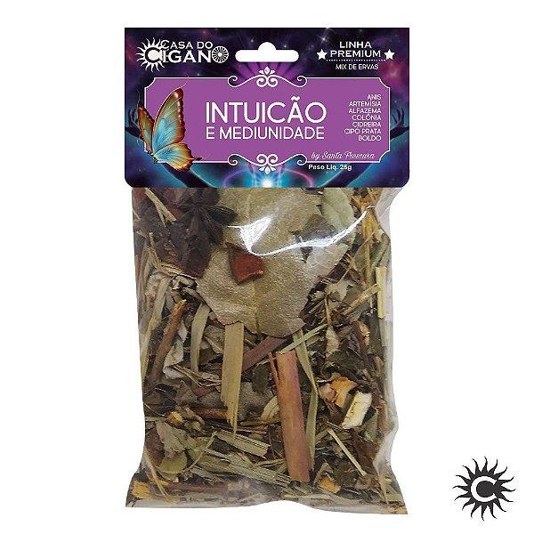 Banho de Erva - Santa Frescura Premium - Intuição e Mediunidade
