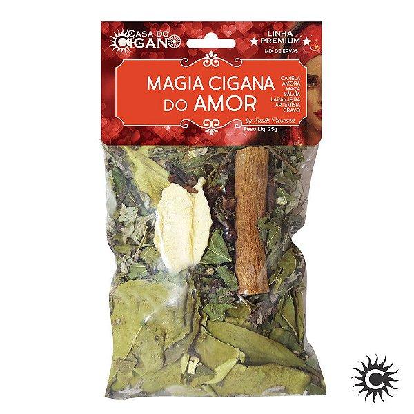 Banho de Erva - Santa Frescura Premium - Magia Cigano do Amor